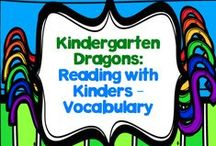 Reading With Kinders: Vocabulary