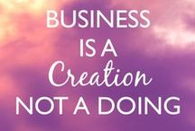Conscious Business / What else is possible in business when you invite in new and totally different possibilities?