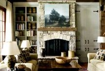 Maison Belle Air - Fireplace Stone