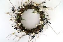 Wreath and garlands