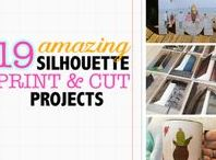 Silhouette Print and Cut Tutorials & Projects / The best Silhouette CAMEO Print and Cut project ideas and tutorials! Silhouette's print and cut feature is a complete game changer!