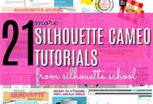 Best Silhouette Tutorials / The best Silhouette Tutorials for CAMEO, Silhouette Portrait, Curio and Silhouette Mint all in one place! More than 1000 Silhouette tutorials for beginners, advanced crafters, free Silhouette design files and more!
