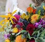 Wedding Flowers / Wedding bouquet and reception floral ideas