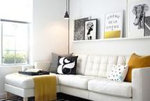 LOFT SPACE & DECOR / home decor in a small space / by Megan Martinez