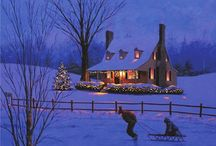 Dreamin' of a white Christmas / my FAVORITE time of year!!! / by Melissa Beacham Smith