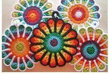 DIY hilos, fibras, ganchillo... DIY threads, fiber, crochet... / by Ana María Pozo Reyes