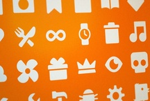icons, pictograms