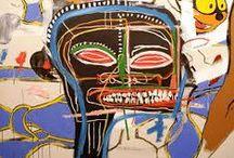 American Painters - III / Andy Wahrol, Keith Haring, Jasper Johns, Jackson Pollock, Jean-Michel Basquiat, Roy Lichtenstein, Dan Witz, Julian Schnabel, Josef Albers, Walter Stuempfig, James Childs / by João Roque