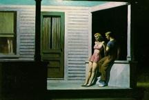 American Painters - I / John Singer Sargent, Edward Hopper, Thomas Eakins / by João Roque