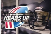 Heads Up Football / Heads up football is comprehensive solution to help make the game better and safer. / by USA Football