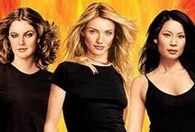 Charlie's Angels / Drew Barrymore, Cameron Diaz, Lucy Liu, Tim Curry, Sam Rockwell / by João Roque