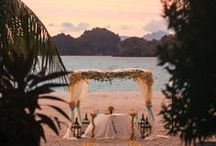 Weddings with a View / When you aren't gazing into each other's eyes on your wedding day, a breathtaking view will always do. Behold these stunning wedding vistas from around the world. / by Four Seasons Bridal