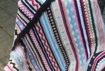 Crochet Along 2014 / Hier mijn vorderingen van de deken van Crochet Along