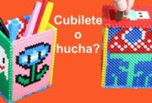 Hamma beads ideas or perler beads / Different proyects that we can make with Hama beads