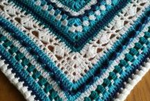 Cal 2015 / Foto's van mijn wekelijks gehaakte crochet along deken 2015