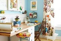 Sewing Spaces / Visual candy for your dream sewing cave and amazing storage ideas.