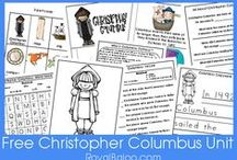 teaching: columbus day / Columbus Day teaching ideas, lesson plans, printables, crafts, activities, and more. / by A to Z Teacher Stuff