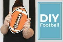 DIY Football / How to make just about anything football shaped