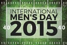 International Men's Day 2015 / USA Football celebrates International Men's Day 2015 with gift ideas, recipes, and more! / by USA Football