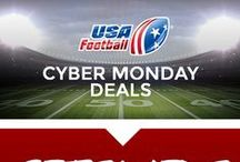 CYBER MONDAY / Catch the biggest deals on USA Football apparel and more! / by USA Football