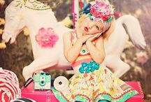 Vintage Circus / Inspiration for Vintage Circus styling // fashion, party and kids spaces