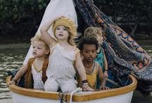 Let's go on an adventure / Inspiration for kids adventures.  Kids fashion, kids spaces and pretend play.