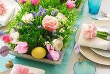 Easter Inspiration / A mix of crafts to make, games to play and creative ways to decorate and celebrate Easter.
