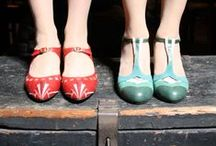 Shoe Love / Drool worthy vintage inspired shoes.