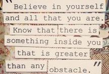 Words to Inspire & Motivate / by Julie T.