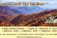 "Smoky Mountain Fall / Autumn in the Great Smoky Mountains offers brilliant colors, cool temperatures, Appalachian crafts and lots of family fan!  Come ""Fall in the Love"" with the Smokies this Autumn. / by Highlands Condos"