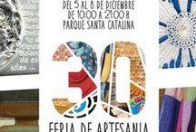 Ferias Regionales de Artesanía de Canarias (1985-actualidad) / La primera edición de la Feria Regional de Artesanía de Canarias tuvo lugar en el año 1985, en Santa Cruz de La Palma. En la actualidad, esta feria sigue celebrándose alternativamente en Gran Canaria y en Tenerife.