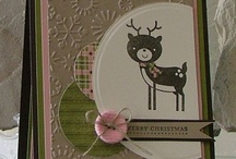 Christmas Cards-Stamping / by Clarissa McDonald Gibbons