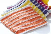 Knitting - Items for the Home / Dishclothes, Potholders, Blankets and other miscellaneous things for the home / by Julie T.