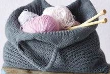 Knitting - Tops, Sweaters, Socks, Bags etc... / by Julie T.