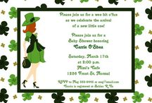 St Patrick's day baby shower
