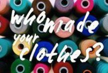 duurzaam textiel / by Nele @spiegelstiksels