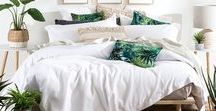 Summer Trend Edit! / Whether your dream decor is a tropical paradise, modern coastal, or even that of a global traveller, we've got you covered, at Pillow Talk - pillowtalk.com.au