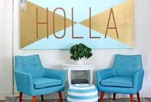 No More Bare Walls / Easy DIY art projects to decorate your walls. / by Carrie Spalding @ Lovely Etc.