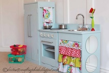 Dreams of a play kitchen
