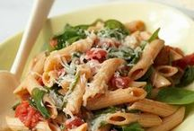 Pasta Recipes / When it comes to dinner dishes, pasta recipes provide a near-limitless number of choices—like flavorful spaghetti, carbonara, alfredo, stroganoff, and ziti!