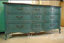 Chalk Paint Inspiration / Fabulous projects using Annie Sloan Chalk Paint / by Carrie Spalding @ Lovely Etc.