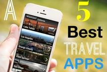 Cool Travel Apps / Everyone loves technology these days. Be able to keep in touch with family and travel to foreign countries with these cool apps.