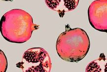 POMEGRANATES / by Christine Petersen