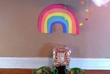 St. Patrick's Day / St. Patrick's Day crafts, food, activity ideas, as well as leprechaun treat/visit ideas.
