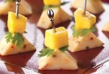 Appetizer Recipes / Great appetizers can set the stage for a great meal. Whether you're planning a large dinner party or just looking for a quick bite on the go, we have you covered. / by Kraft Recipes