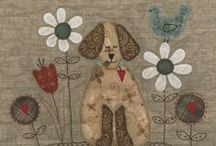 Applique and Stitching