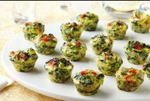 Baby Shower Recipes / Whether you're planning a baby or bridal shower, consider serving a menu of appetizers and other savory bites. Finish with delectable desserts. / by Kraft Recipes