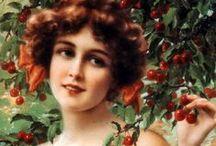 Artists:  Vernon / Emile Vernon   1872  -  1919 / by Lynne Wedeen