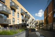 Gunmaker's Wharf / Gunmaker's Wharf provides high-quality new homes in an unusual urban location; overlooking Victoria Park and adjacent to the Hertford Union Canal in Bow.