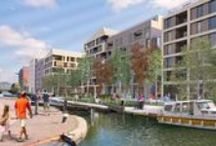 Neptune Wharf / On completion, this canalside scheme adjacent to the Olympic Park, part of Europe's largest regeneration area, will provide a new urban quarter to a currently underused, isolated and industrial neighbourhood.
